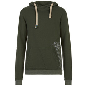 E9 Neon Fleece Hoody Men musk